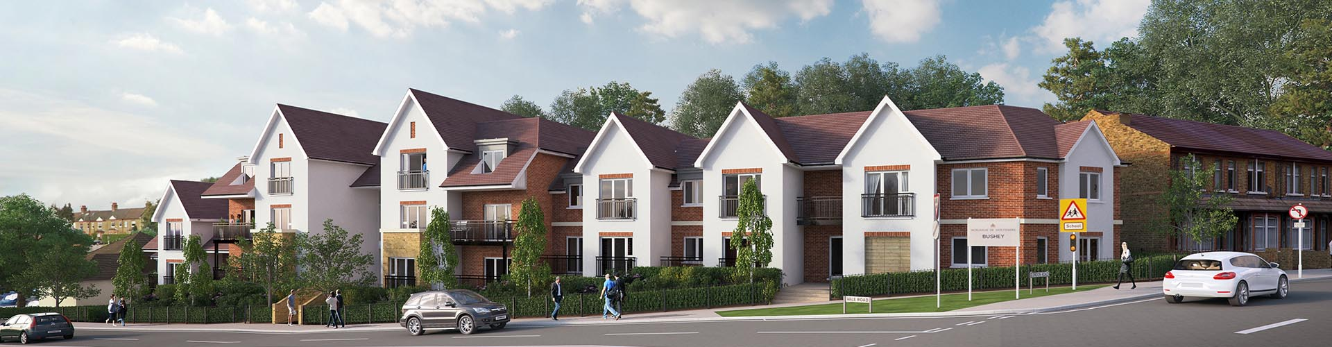 Housing estate development