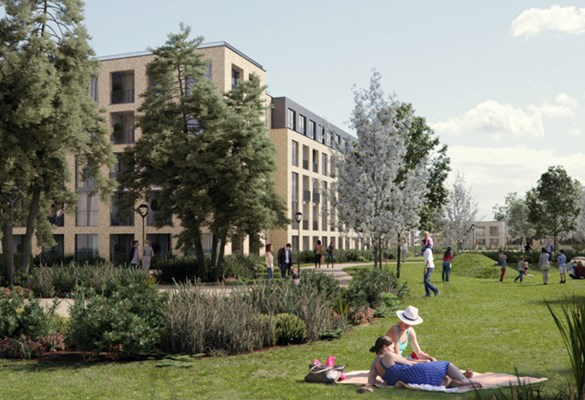 cheshunt lakeside development